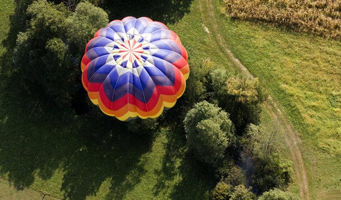 Traumhafte Ballonfahrt in Aachen