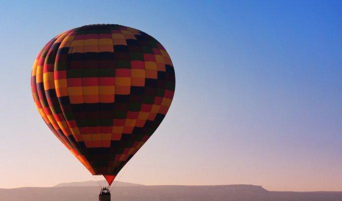 Ballonfahrt zum Sonnenuntergang in Bad Neustadt