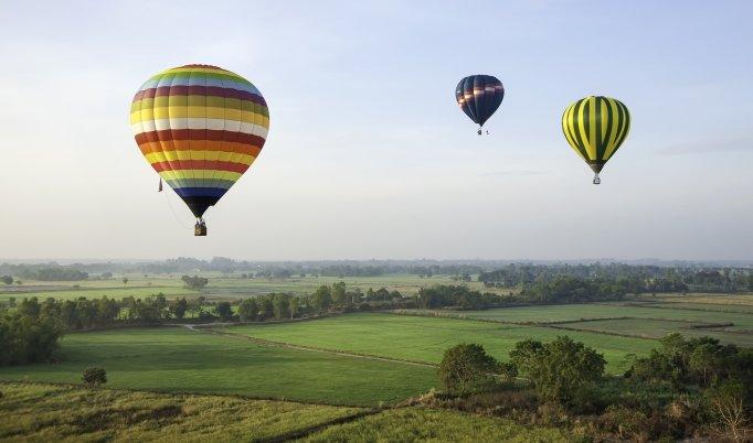 Heißluftballonfahrt in Schwäbisch Gmünd