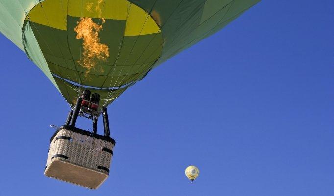 Ballonfahrt in Schmitten