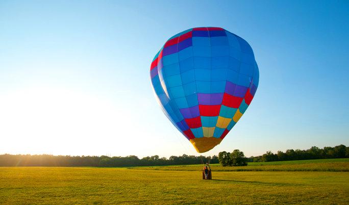 Ballonfahrt für Zwei in Suhl