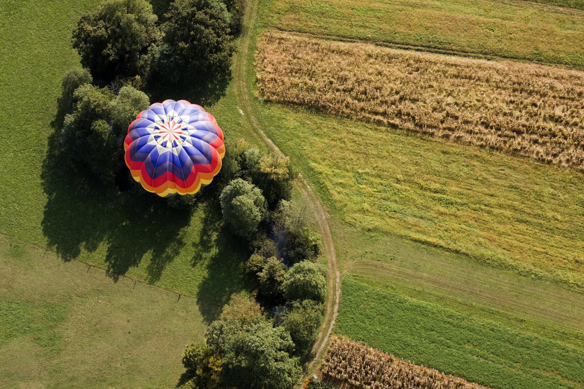 Ballonfahrt in der Fränkischen Schweiz