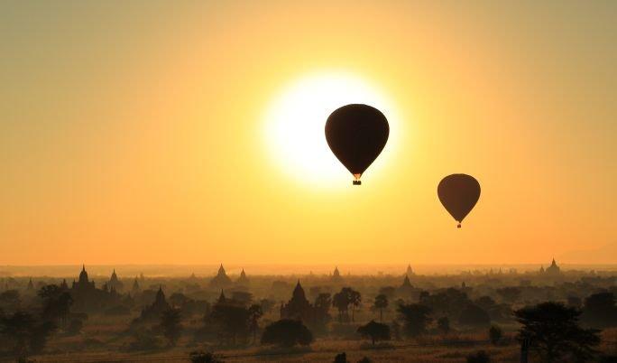 Romantische Ballonfahrt für Paare in Marl und Umgebung
