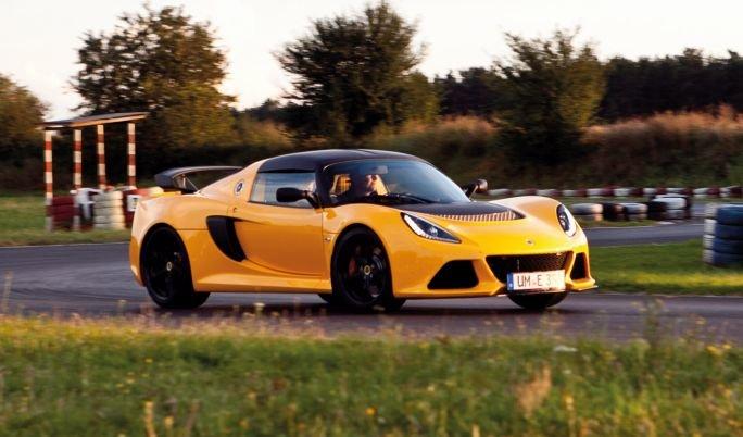 Lotus Exige rennfahrertraining