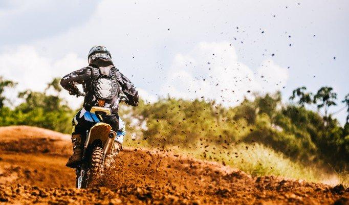 Motocross fahren in Biendorf