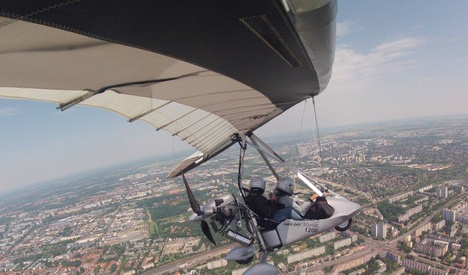 Rundflug im Trike - 90 Minuten in Berlin